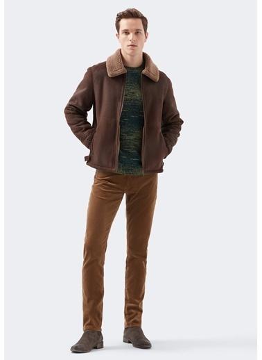 Mavi Marcus Comfort Kahveregi Kadife Pantolon Bej